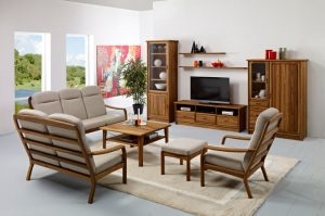 living room teak